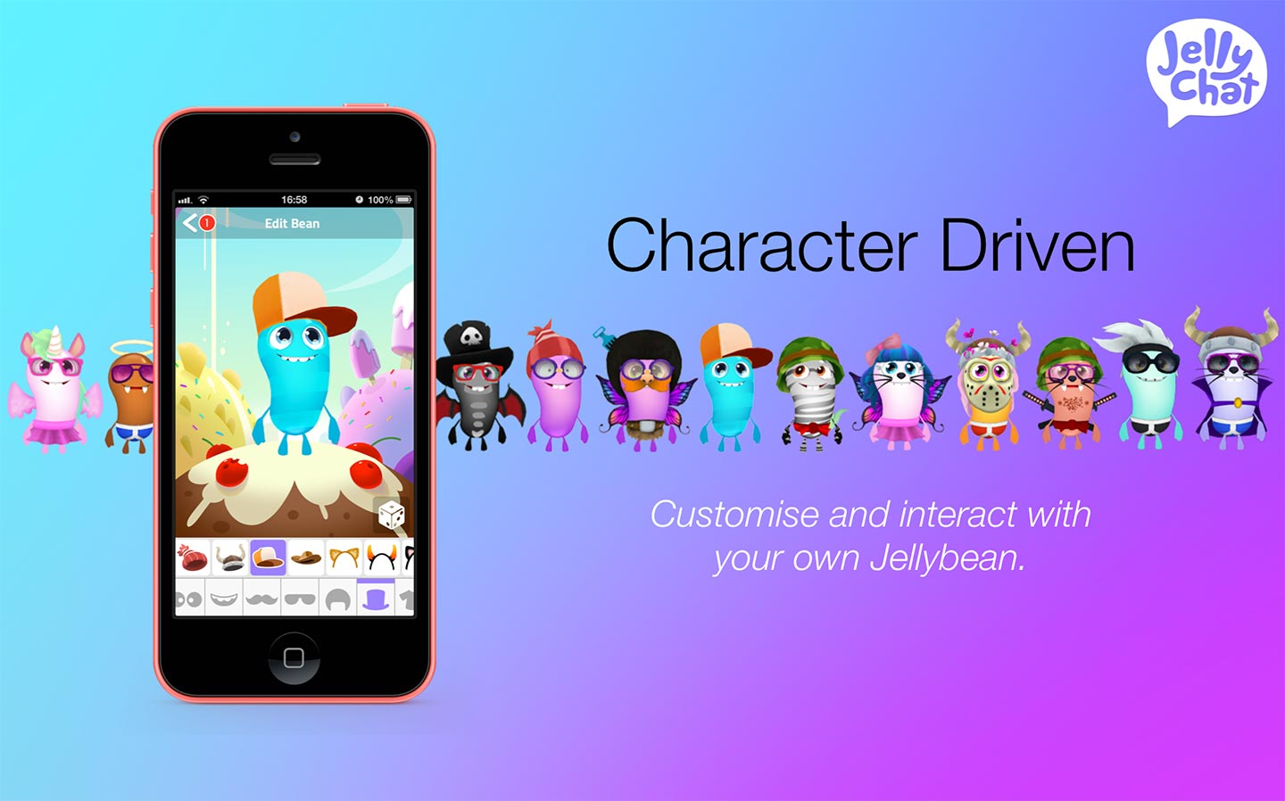 JellyChat v1.0 - Character driven